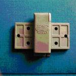 Montageplatte, C-Stahl, ca. 20 gr, feinge- gossen roh, ohne Bearbeitung