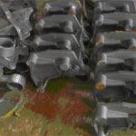 Aufnahme, C-Stahl, ca. 2,3 kg, roh gegos- sen, ohne Bearbeitung