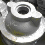 Deckel, St 37-2, ca. 4,5 kg, roh gegossen, ohne Bearbeitung