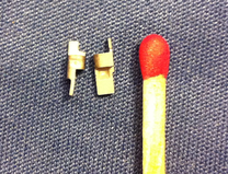 Split MIM Material: 316L Gewicht: 0.7g
