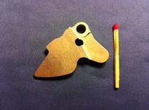 Drücker MIM  Material: MIM4605 (Fe2Ni0.5Mo)  Gewicht: 19g